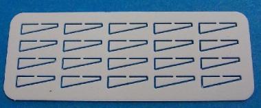 Unterzüge 8x2 mm, M 1:100
